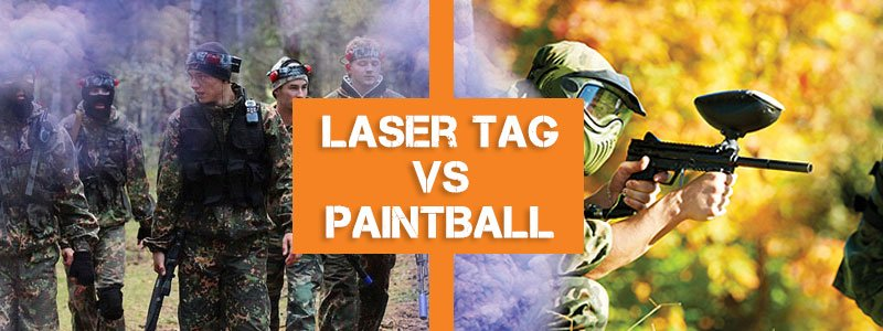 things to do in Swansea, Laser Tag, Paintball